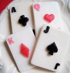 Playing Cards Soap Set