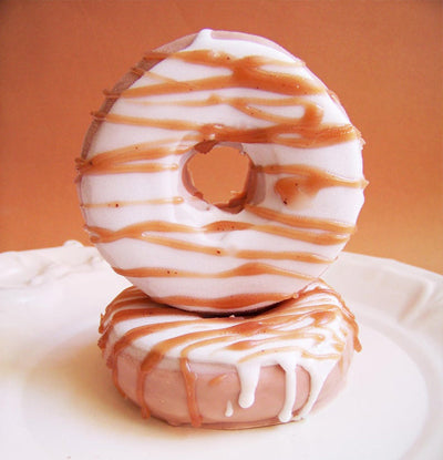 Coconut Chocolate Drizzle Doughnut Soap
