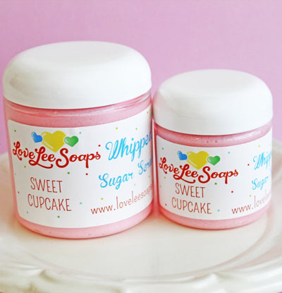 Cupcake Sugar Scrub Soap