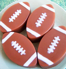 Chocolate Football Soap