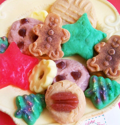 Christmas Cookies For Santa Soap Set