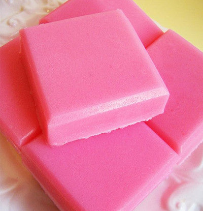 Cherry Solid Sugar Scrub Soap Bar