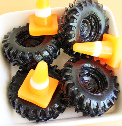 Monster Truck Tire Soap