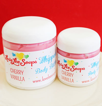 Cherry Vanilla Whipped Body Butter