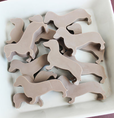 Dachshund Dog Soap Set