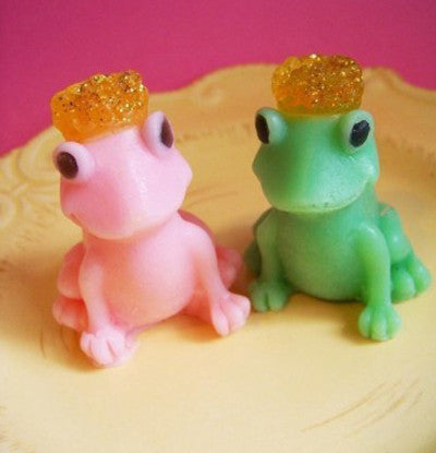Prince and Princess Frog Soap Set