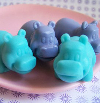 Lavender Hippo Soap Set