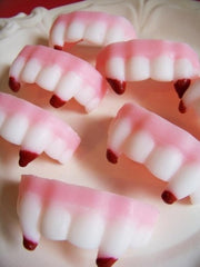 Vampire Fang Soap Set
