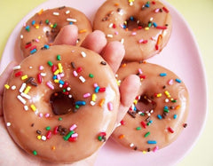 Chocolate Sprinkled Doughnut Soap