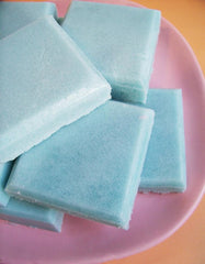 Cotton Candy Solid Sugar Scrub Soap Bar