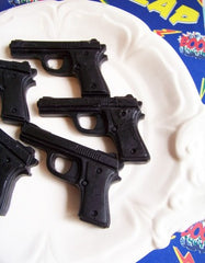 Black Cherry Gun Soap Set