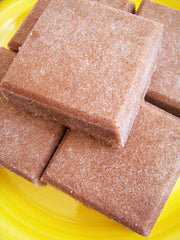 Hot Chocolate Solid Sugar Scrub Soap Bar