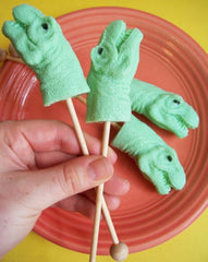 Lime Dinosaur Soap Set