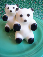 Lime Panda Bear Soap