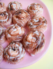 Mini Cinnamon Roll Soaps