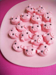 Strawberry Pig Soap Set