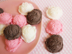 Neapolitan Mini Ice Cream Scoop Soap Set