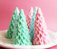Holiday Pastel Christmas Tree Soap
