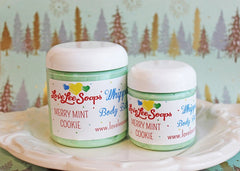 Merry Mint Cookie Whipped Body Butter