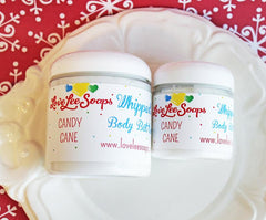 Candy Cane Whipped Body Butter