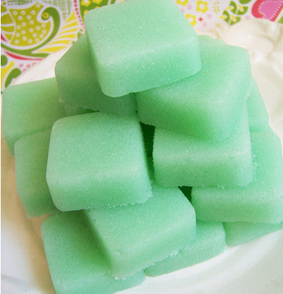 Mint Solid Sugar Scrub Soap