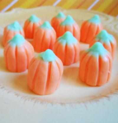 Candy Corn Pumpkin Soap Set