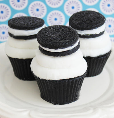 Cupcake Soap Cookies and Creme