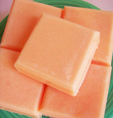 Orange Tangerine Solid Sugar Scrub Soap Bar