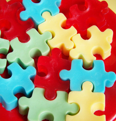 Jigsaw Puzzle Soap Set