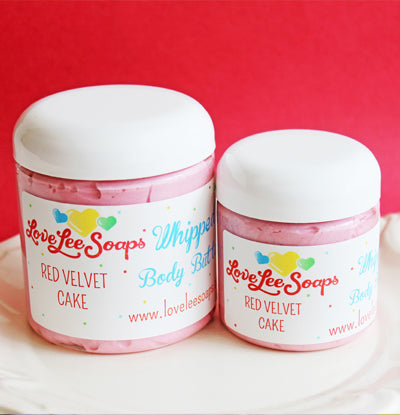 Red Velvet Cake Whipped Body Butter