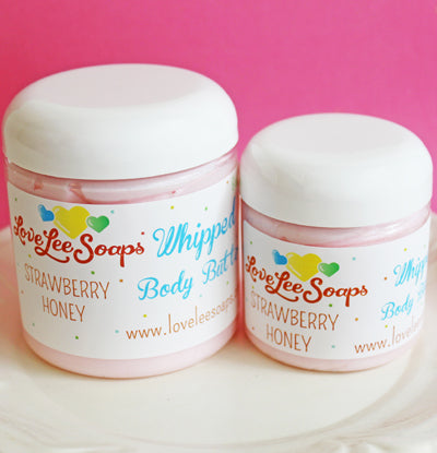 Strawberry Honey Whipped Body Butter