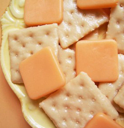 Cheese With Crackers Soap Set