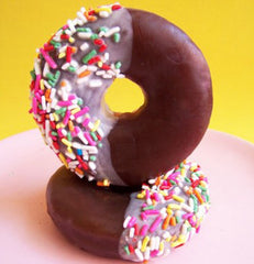 Chocolate Dipped Sprinkle Doughnut Soap