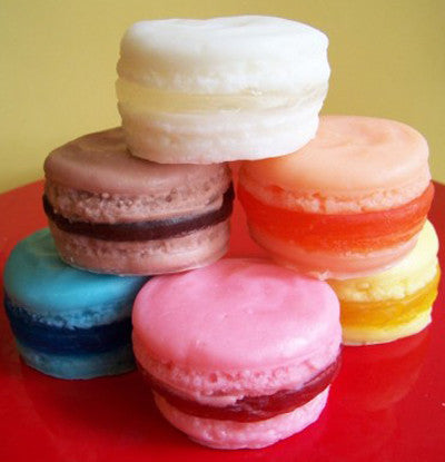 French Macaron Soap Complete Set