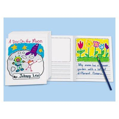 Write-A-Story Blank Book - Set of 10