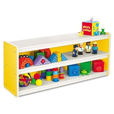 Kids Colours Low Store Anything Shelves - Yellow