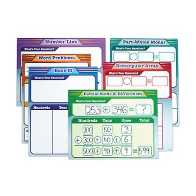 Math Strategies Magnetic Teaching Charts - Gr. 2-3