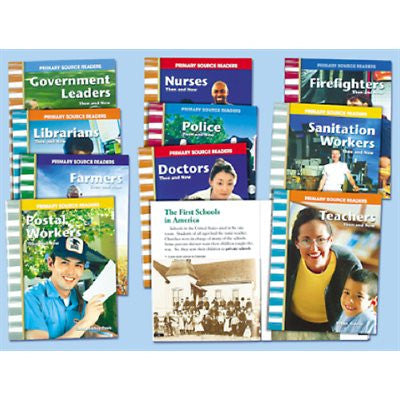 Community Helpers at Work Photo Book Series