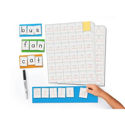 Write & Wipe Letter Formation Stickers