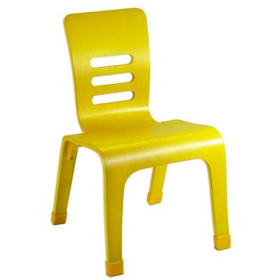 "14"" Bentwood Chair - Yellow"