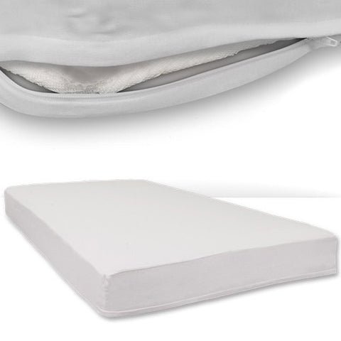 Safefit Zippered Fitted Sheet - White