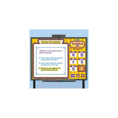 Vocabulary Quiz Game CD-Rom - Gr. 4-6