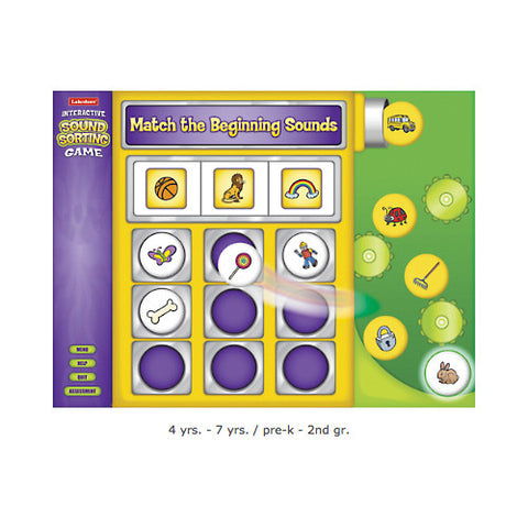 Beginning Sounds Game CD-Rom - Single License