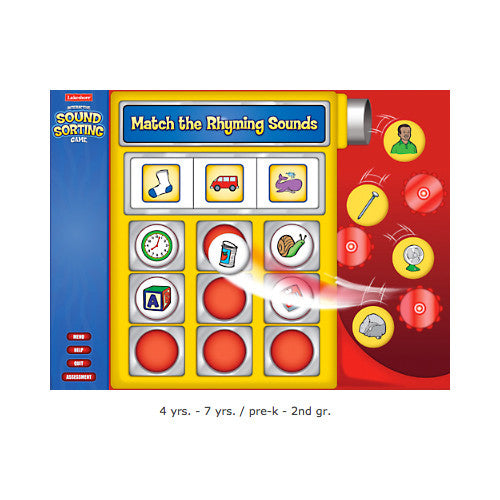 Rhyming Sounds Game Cd-Rom - Single License