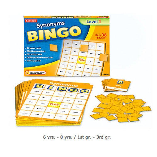 Synonyms Bingo - Gr.1-3