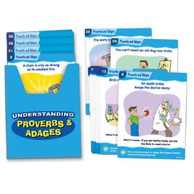 Understanding Proverbs & Adages Cards