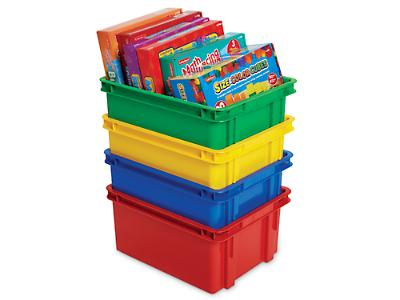 Extra Storage Bin - Red