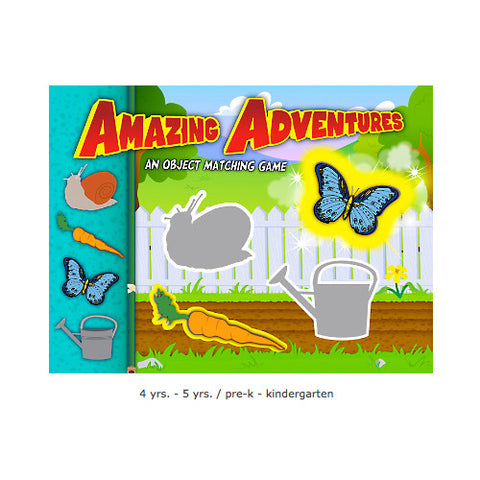 Amazing Adventures-Object Matching Interactive Games - Single License