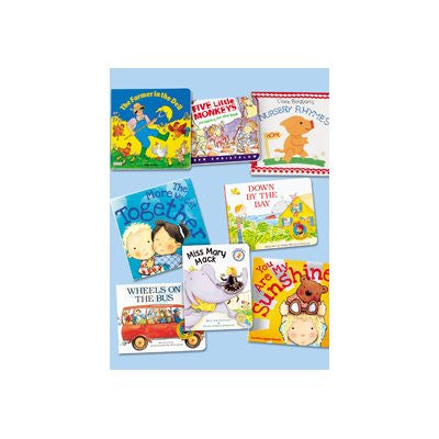 Favourite Songs & Rhymes Board Book Collection