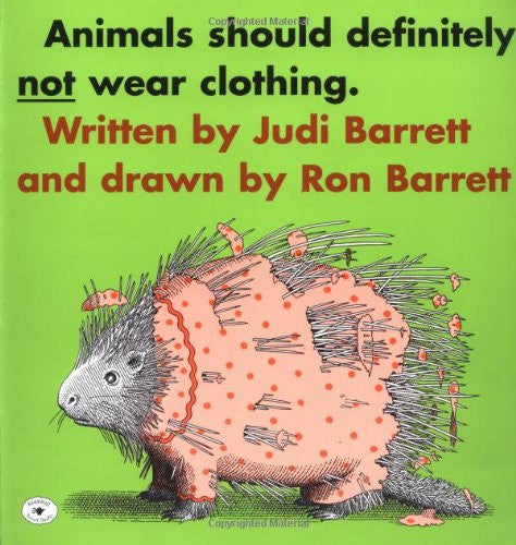 Animals Shouldn't Wear CD Read-Along